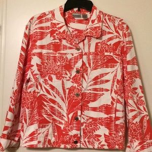 Chico's Tropical Jacket